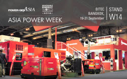 HIMOINSA exhibits at Power-Gen Asia generator sets with reduced consumption and operation costs