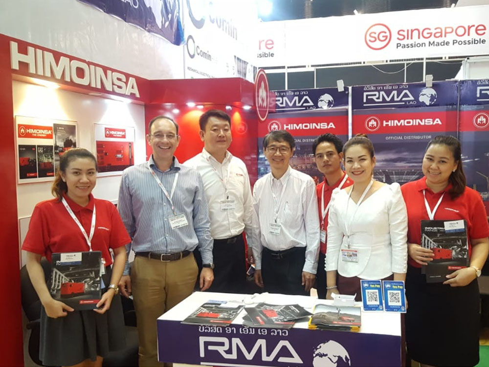 HIMOINSA and RMA took part in LaoBuild'18