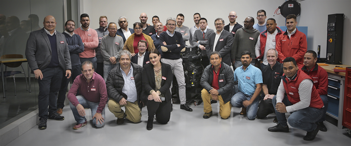HIMOINSA brings its Technical Service and Spare Parts professionals together at the 'Annual After Market Workshop'